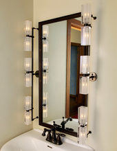 Stone Lighting BK221CRBZX1 - Bath Kit Cylinder Clear Bronze G4 Xenon 10W