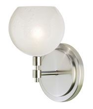 Stone Lighting WS177OPSNX3 - Wall Sconce Optics Fizz Opal Satin Nickel GY6.35 Xenon 35W