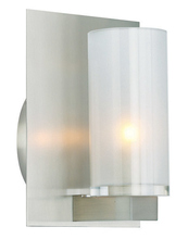 Stone Lighting WB221CRPNG940 - Wall Bracket Crystal Cylinder Clear Polished Nickel G9 40w 120V