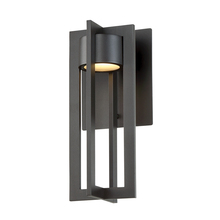 WAC US WS-W48612-BZ - CHAMBER 12IN OUTDOOR SCONCE 3000K