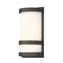 WAC US WS-W52610-BZ - LATITUDE 10IN OUTDOOR SCONCE 3000K