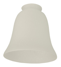 "Craftmade 199 - 2 1/4"" Fan Glass, Bell Shaped in Frosted Seeded"