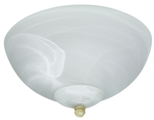 Craftmade OLK215CFL - 2 Light Outdoor Bowl Fan Light Kit with Alabaster Glass