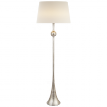 Visual Comfort ARN 1002BSL-L - Dover Floor Lamp in Burnished Silver Leaf with L