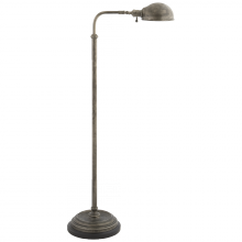 Visual Comfort CHA 9161SN - Apothecary Floor Lamp in Sheffield Nickel