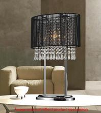 Crystal World 5004T13C(W) - 1 Light Chrome Table Lamp from our Sheer collection