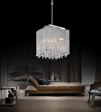 Crystal World 5320P10C-S - 3 Light Chrome Drum Shade Mini Pendant from our Elsa collection
