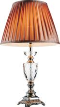 Crystal World 5515T14BN - 1 Light Brushed Nickel Table Lamp from our Yale collection