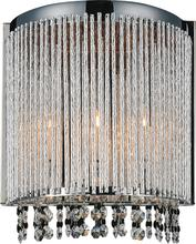 Crystal World 5535W8C-A - 2 Light Chrome Wall Light from our Claire collection