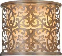 Crystal World 9807W13-2-116 - 2 Light Wall Sconce with Brushed Chocolate finish