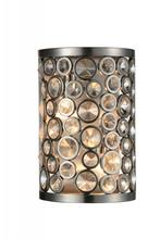 Crystal World 9908W7-2-606 - 2 Light Satin Nickel Wall Light from our Wallula collection