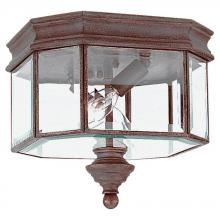Sea Gull 8834-08 - Single-Light Hill Gate Outdoor Close to Ceiling