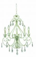 Kenroy Home 92046WW - Chamberlain 5 Light Chandelier