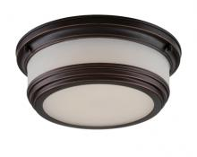 Nuvo 62-325 - Dawson - LED Flush Mount w/ Frosted Glass