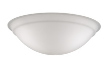 Fanimation G1FW - myFanimation - Glass Bowl - Frosted WH